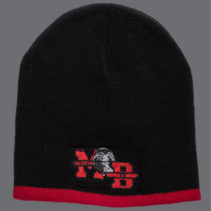Black & Red Beanie